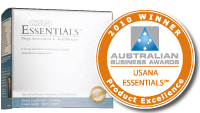 USANA Australian Business Award - Product Excellence