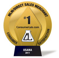 usana products consumerlab award