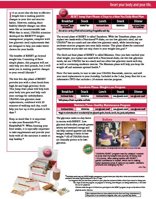 Click Here Program De S Information Sheet Reset Program De S