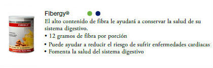 productos usana fibergy